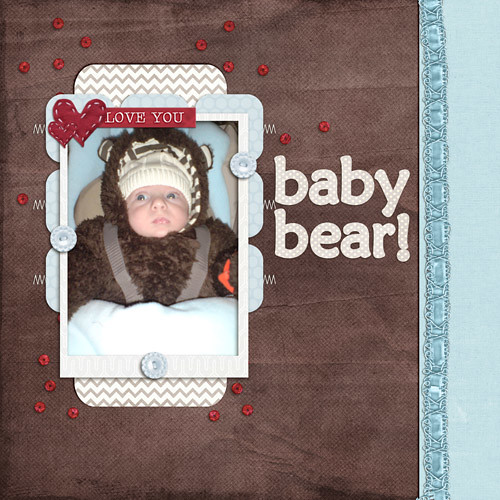 Baby Bear by Lukasmummy