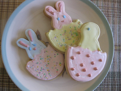 Bunnies and chicks and cookies OH MY!
