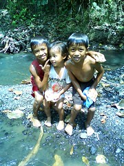 down by the river (zouglazo) Tags: summer kids river picnic photos philippines ramon isabela