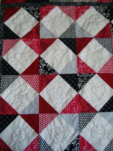 Alice quilt motifs