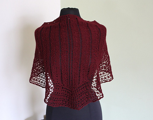 passionknit's Two Rivers shawl