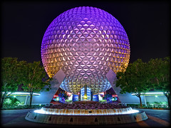 Epcot - Spaceship Earth (Silver1SWA (Ryan Pastorino)) Tags: world canon epcot earth sigma disney spaceship walt sigma1020 40d