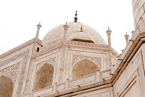 Back of the Taj Mahal