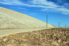 Road Up (BrokenElle) Tags: road blue sky usa lake signs green mexico rocks texas view dam nation amistad resivoir