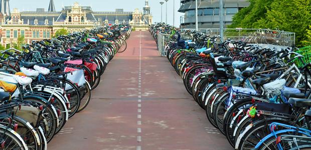 Bicicletas em Amsterdam 1