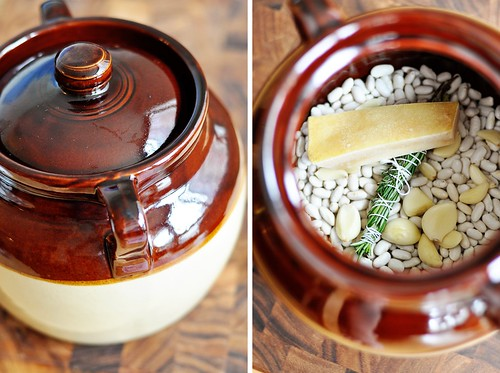 Bean Pot and Beans