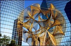 Lincoln Centre -- Dallas, Texas (greenthumb_38) Tags: windows window glass metal bronze gold dallas texas canon300d metallic hilton chrome glaze lincoln digitalrebel 1740mm metalic lincolncenter glazing lincolncentre hiltonhotel dallastexas jeffreybass eosdigitalrebel300dkissdigital