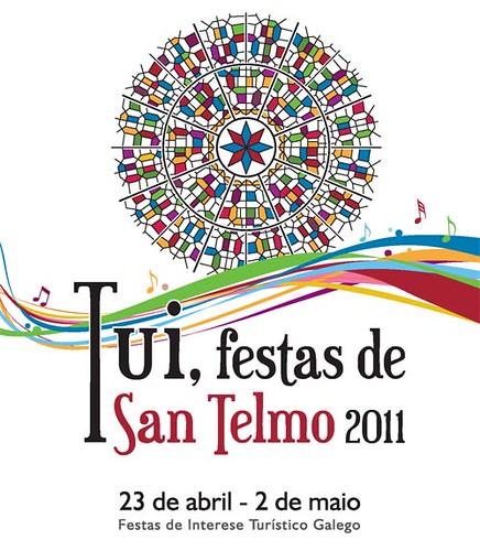 Tui 2011 - Festas de San Telmo - cartel