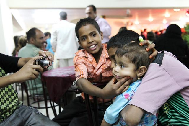エジプト、アスワンの子どもたち