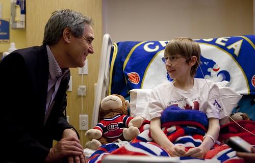Halifax, NS Visit to IWK Health Centre / Visite au Centre de santé IWK