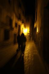 Shadows (vic_206) Tags: street light shadow luz night noche calle sombras miedo teruel albarracin canoneos7d tokina1116