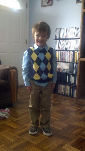 "Most handsome boy ever says ""happy easter!!!!"""