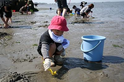 20110417潮干狩り