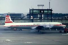 OY-STT  DC-6B  STERLING (caz.caswell) Tags: sterling lgw dc6 c118 r6d oysit