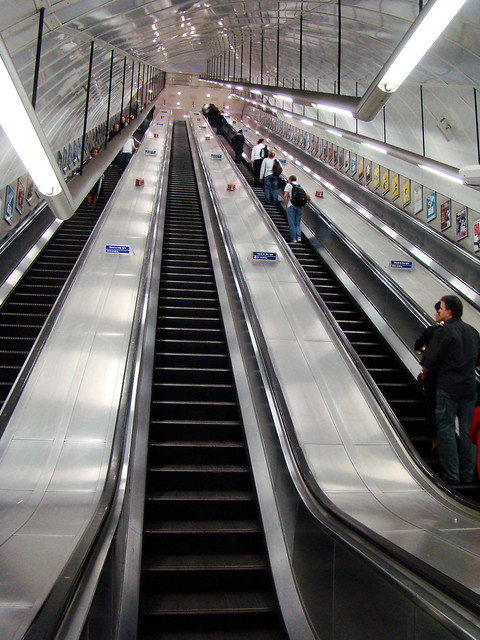 DSC06965 London Underground Escalators