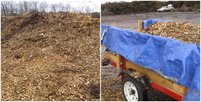 Woodchips - At Yard Waste Site