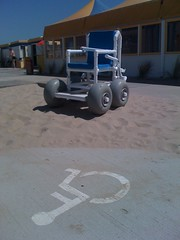 Beach Wheelchair (Martin Kliehm) Tags: