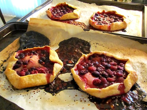 Martha Stewart's Mini Raspberry Galettes
