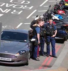 car photo shoot martin police smartphone motorola advert... (Photo: Dave TAZ on Flickr)