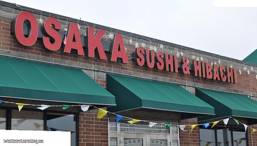 Osaka Sushi & HIbachi ~ Maplewood, MN