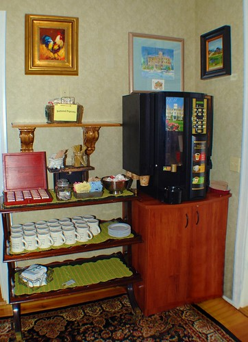 Tea & Coffee Area