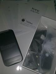 Unboxing HTC Desire S