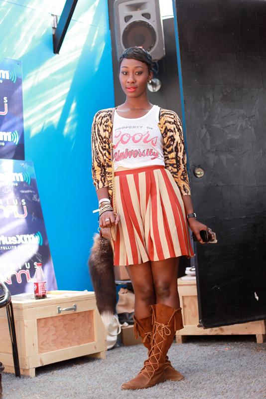 skirtstripe - sxsw austin street fashion style