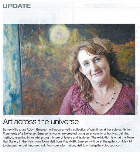 Robyn Emerson Melbourne Weekly 2011
