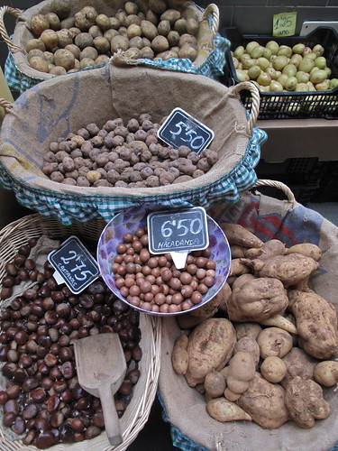 Market in San Sebastian on La Gomera, Canary Islands, Spain