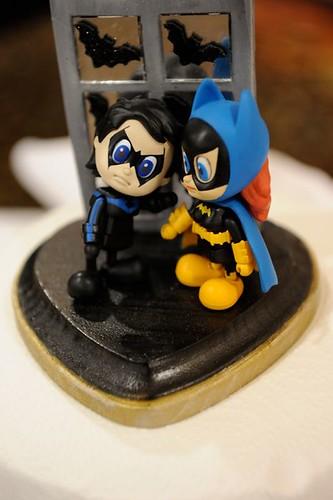 Batgirl Cake Topper
