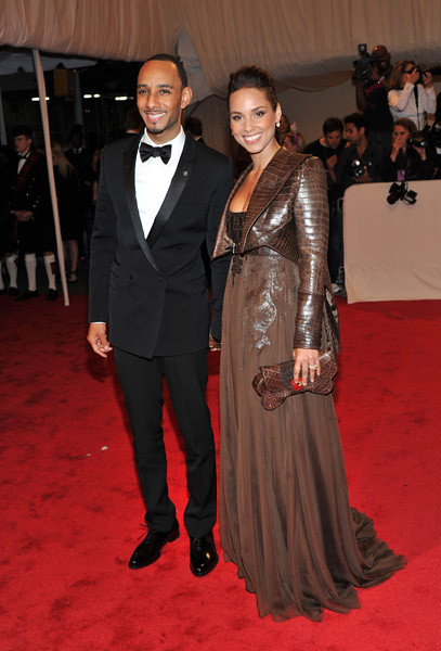 Swizz Beatz & Alicia Keys by AnnishaSmith