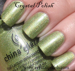 China Glaze Laser Lime (CrystalPolish) Tags: green shimmer holo chinaglaze laserlime tronica