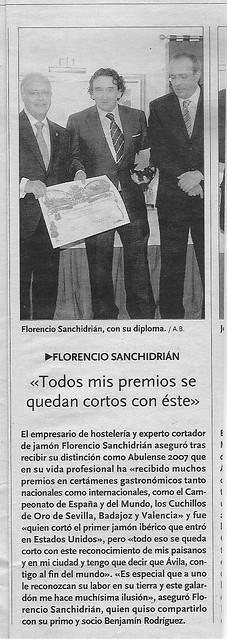 Diario de Avila 14 abril 2008 by Real Jamn Ibrico