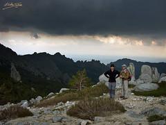 en el Collado del Miradero... (Edu.San.) Tags: mountain rock clouds landscape tormenta guadarrama pedriza