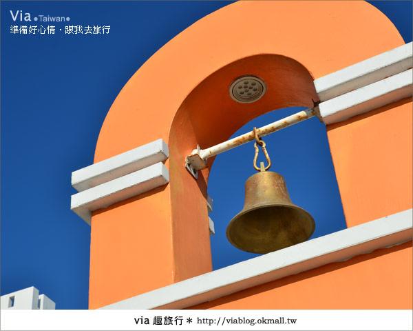 【澎湖民宿】遇見秘境~遇見經典浪漫的藍白風地中海民宿!4