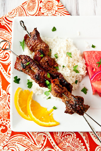 Marinated Beef Kebabs