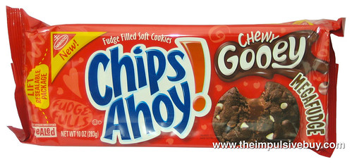 Chips Ahoy Chewy Gooey Megafudge