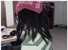 Rastas.2 (edyprezfoto) Tags: boy dreadlocks hair long photobooth with hippy tie piercing mexican journey locks lip dye dreads knots dreadlock rastafari rastas labaret