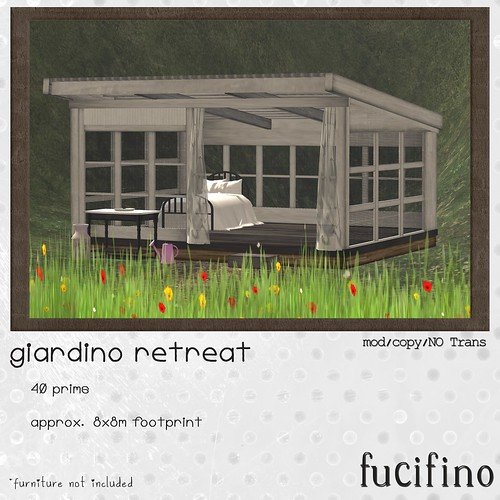 [f] fucifino.giardino retreat for Moody Monday week 7