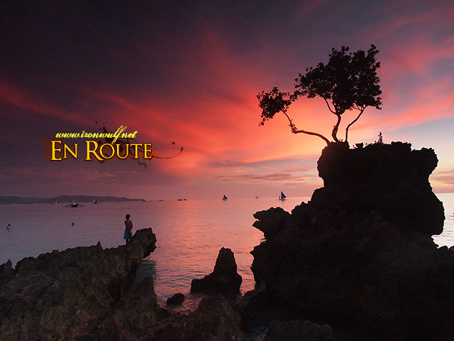 Watch Boracay's famous sunset while connected with Smart LTE