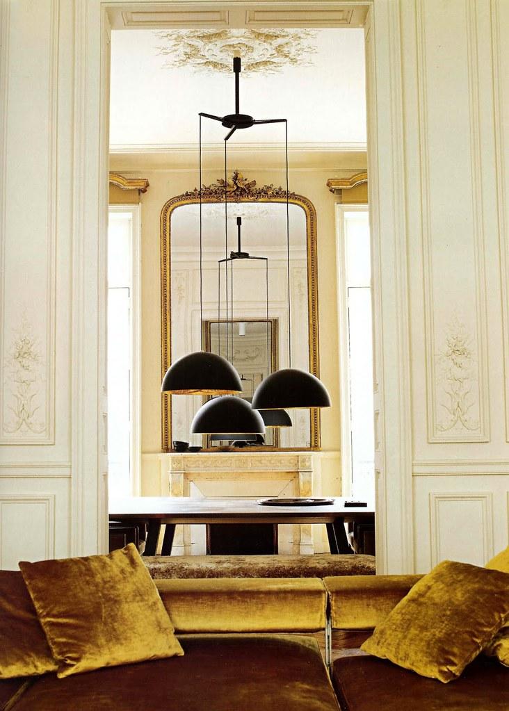 Classical Modern Room