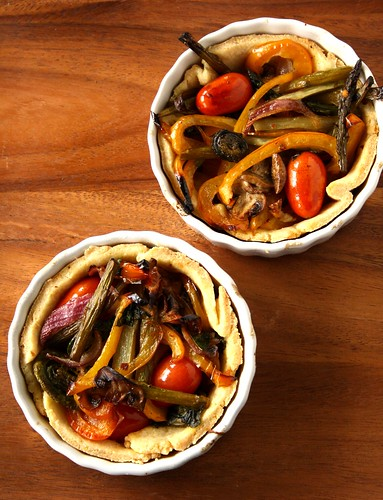 Martha Stewart's Vegetable Tartlets