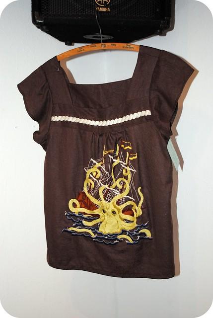 Kraken Sailor Shirt