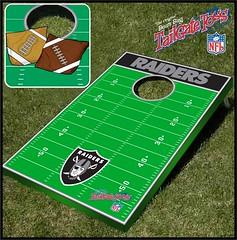 Oakland Raiders Bean Bag Toss Game
