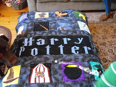 Harry Potter Quilt Made by Nancy