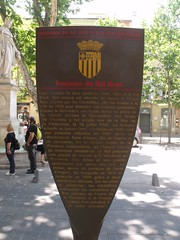 Photo of René of Anjou, David d'Angers, and Cours Mirabeau grey plaque