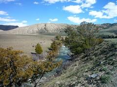 Gardner River (gharness) Tags: sky clouds river landscape nationalpark montana yellowstonenationalpark yellowstone ynp gardnerriver