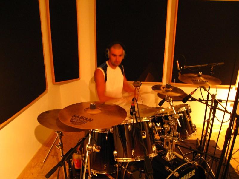 Hervé du groupe de rock celtique Daonet