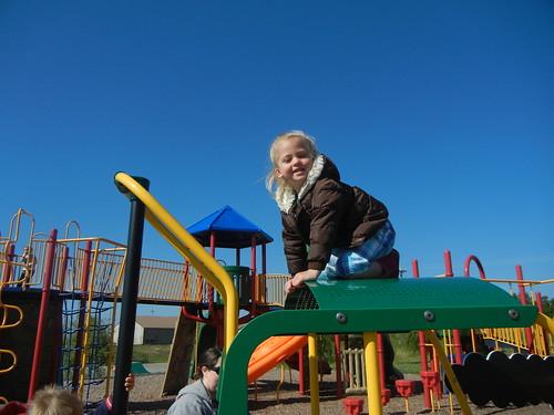 May 17 2011 Shanna preschool park playdate, St. Robert MO