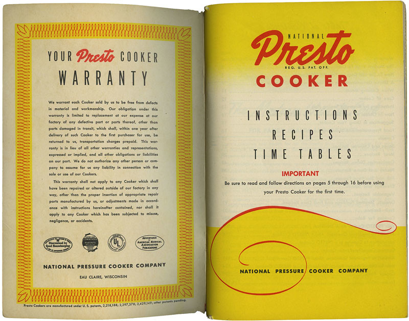 Presto Cooker_title pg_tatteredandlost